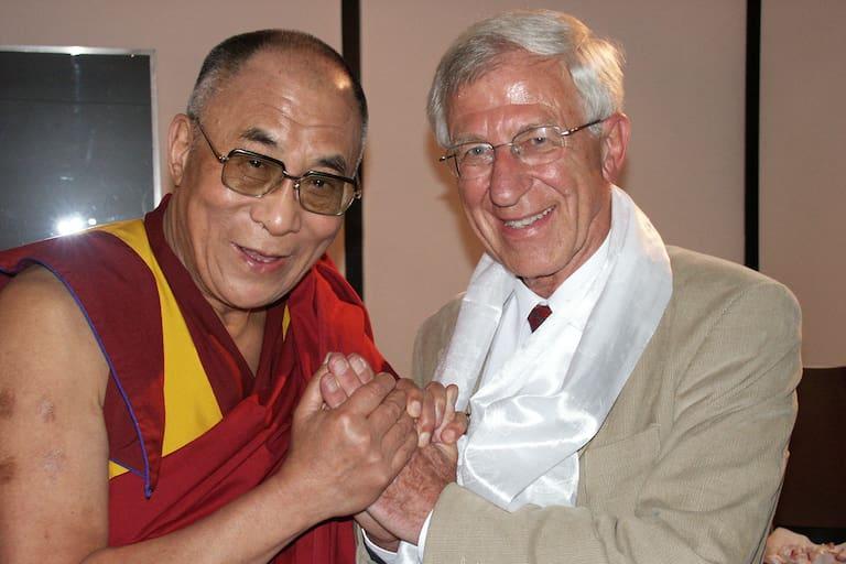 Dalai Lama und Franz Alt