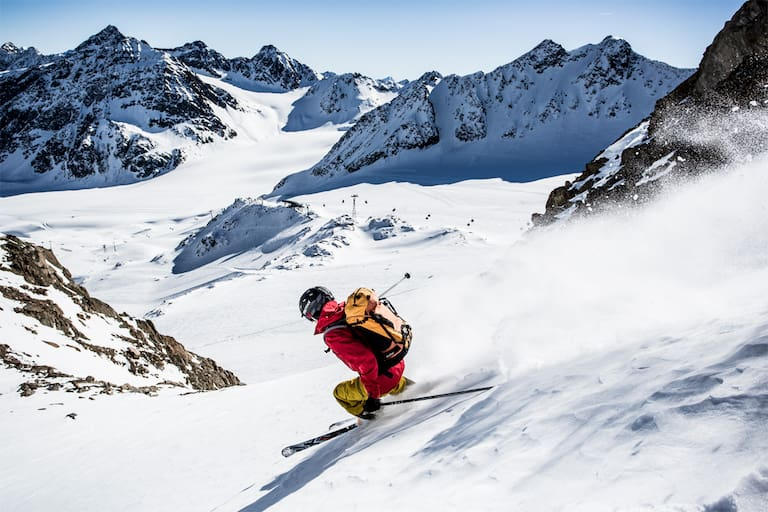 Pitztaler Gletscher Skifahren