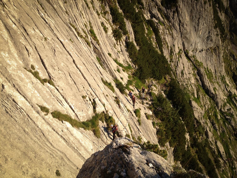 Klettersteig Zugspitze : Zugspitze über den höllental klettersteig bergwelten