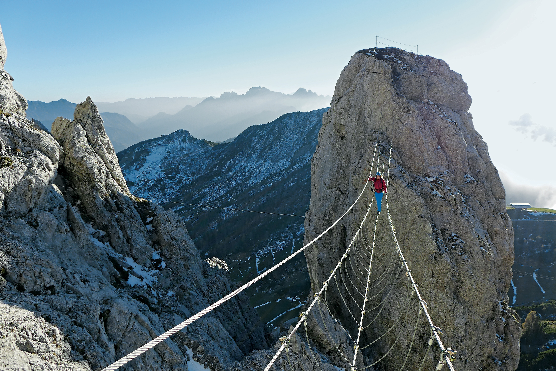 Klettersteig Austria : Der schönsten klettersteige in Österreich bergwelten