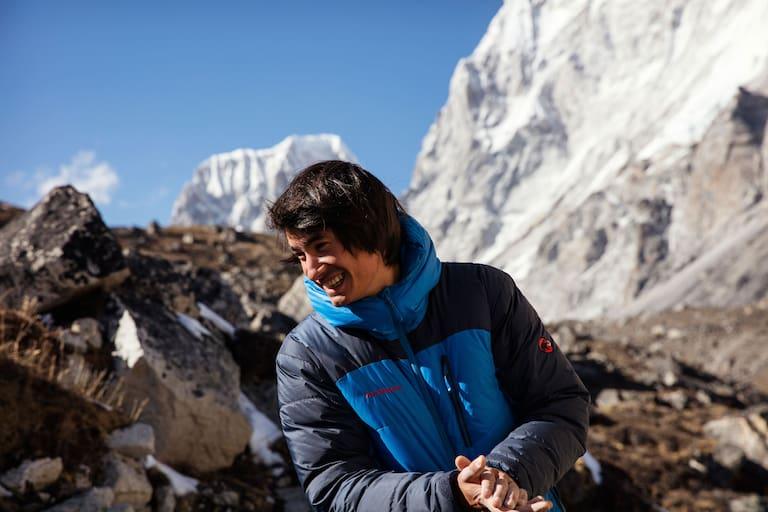 David Lama in Nepal