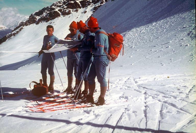 Team der Alpenüberschreitung 1971