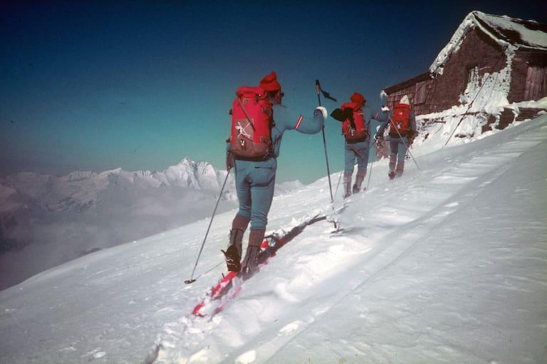 Das Team von 1971 unterwegs