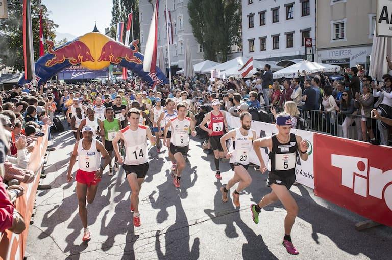 Red Bull Dolomiten Mann 2015 Start