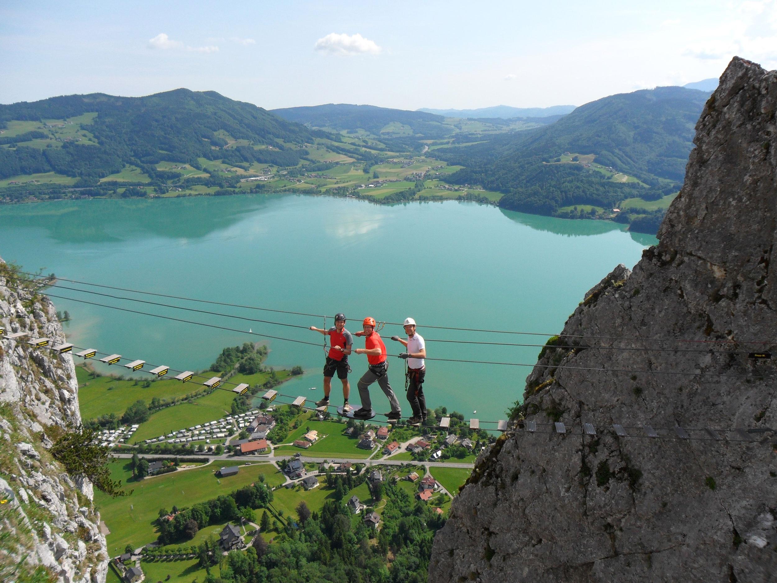 Klettersteig Drachenwand : Check der drachenwand klettersteig c d bergwelten