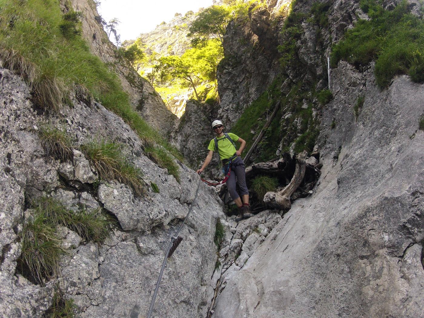Klettersteig Mondsee : Check der drachenwand klettersteig c d bergwelten