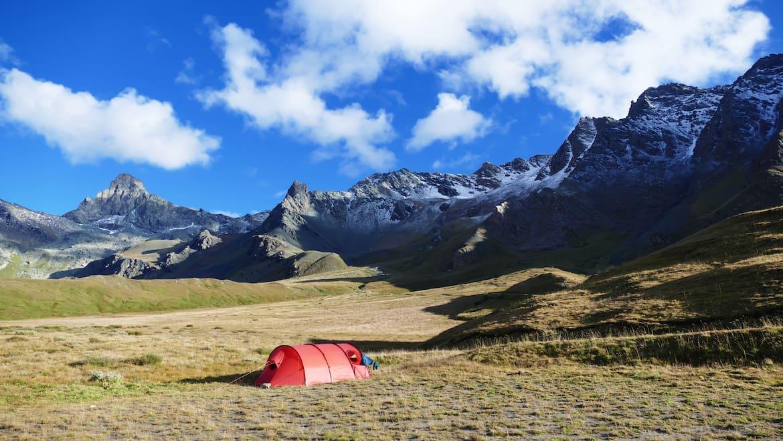 Mit dem Esel durch die französischen Alpen