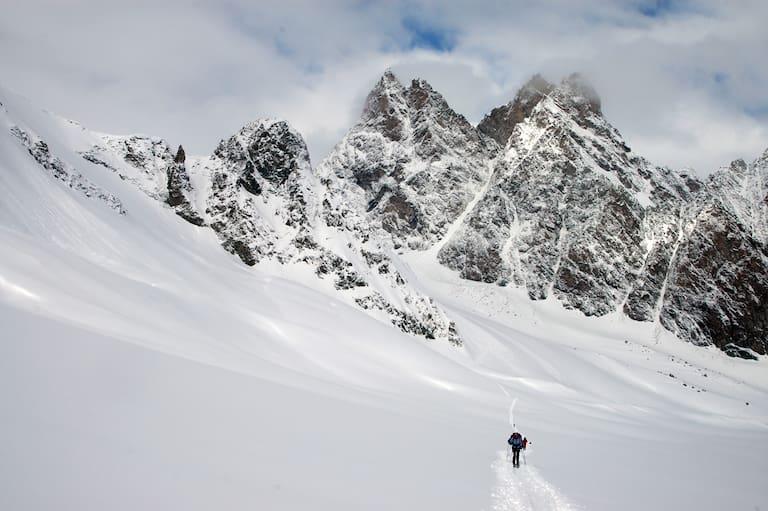Haute Route: Aufstieg zum Col du Mont Brulé