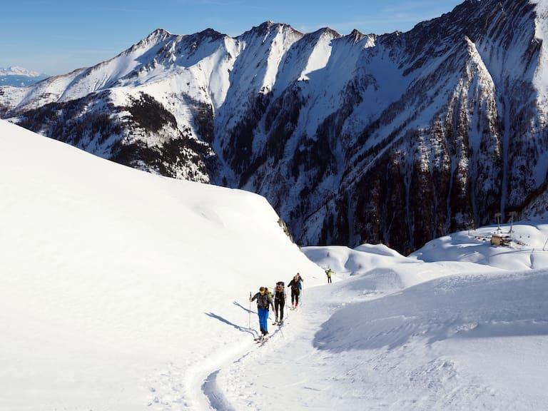 """Bergwelten-Event """"Meine erste Skitour"""" am Kitzsteinhorn"""