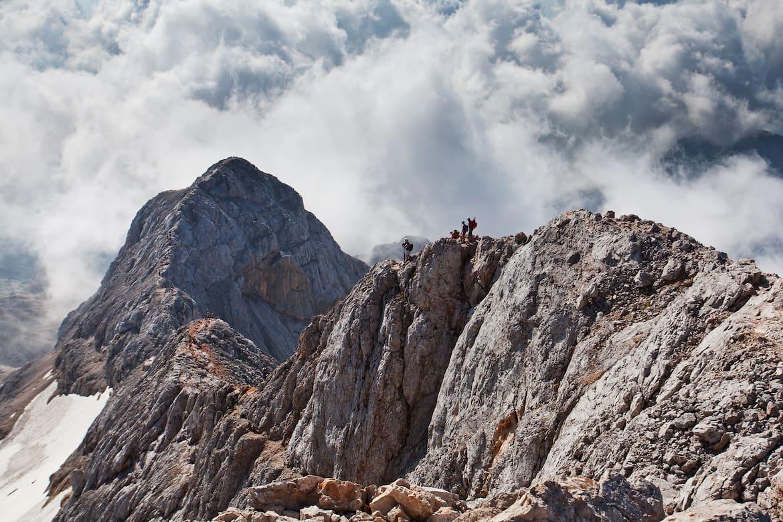 Der Triglav ist der höchste Berg Sloweniens, Nationalsymbol und Namenspate des Nationalparks.