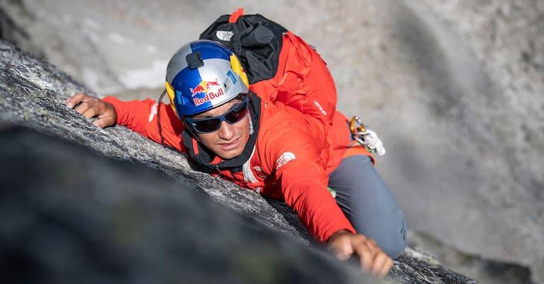 David Lama klettert