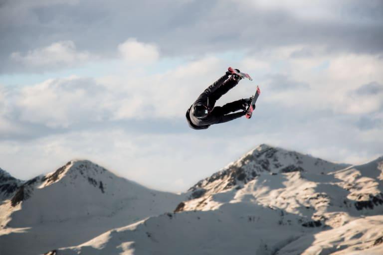 Freestyle Skiing am Jakobshorn