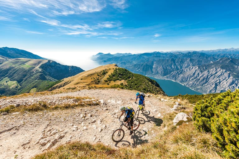 Mountainbike-Touren-Klassiker am Gardasee