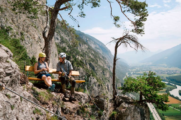 Geierwand-Klettersteig Inntal
