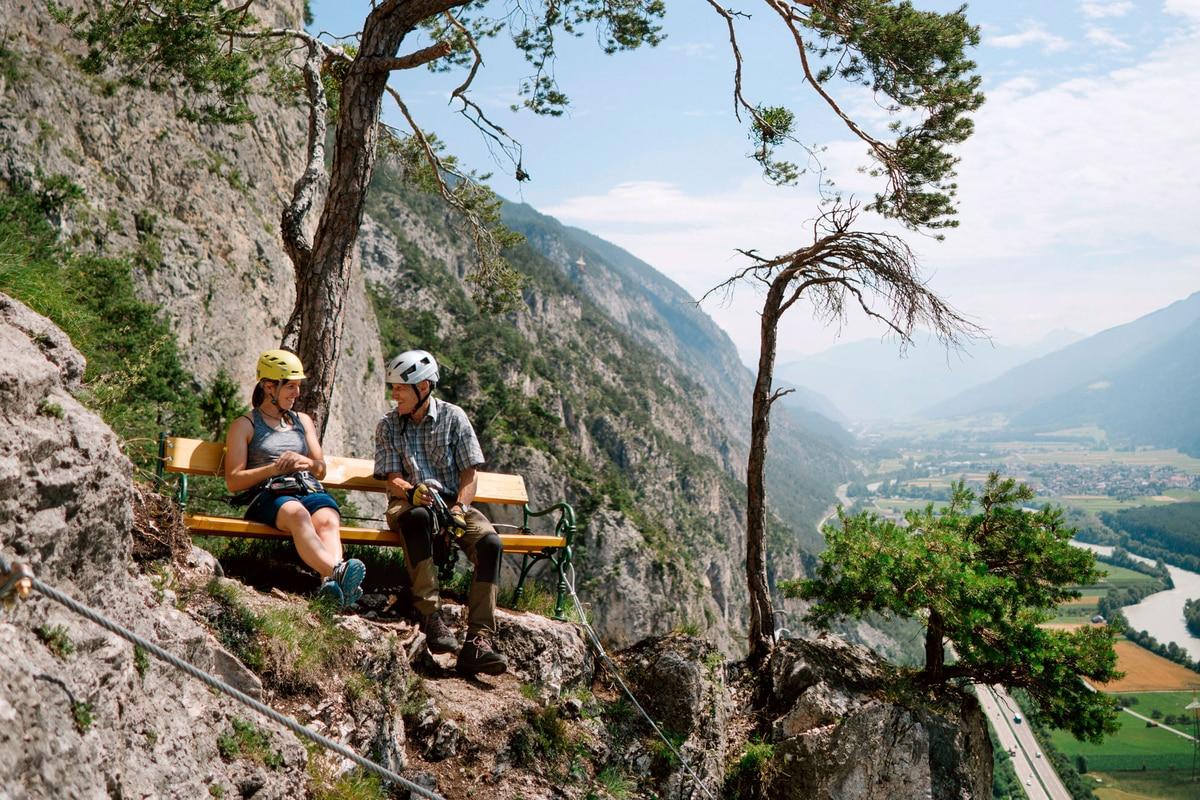 Klettersteig Geierwand : Check: der geierwand klettersteig c bergwelten