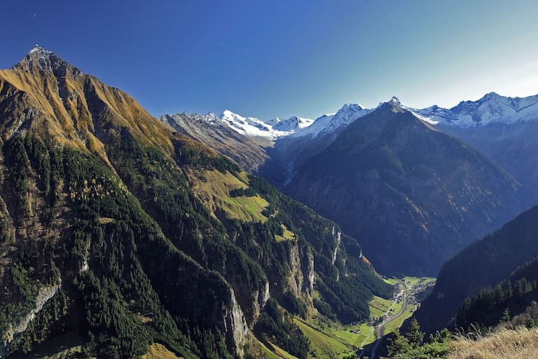 Bergsteigerdorf Ginzling in Tirol