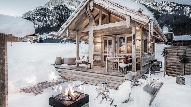9 der sch nsten winter hideaways in den alpen bergwelten. Black Bedroom Furniture Sets. Home Design Ideas