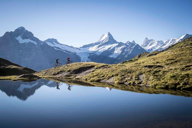 Mountainbiketour zum Bachsee in Grindelwald