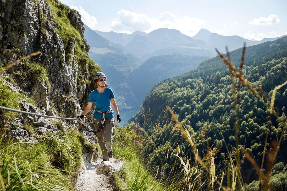 Klettersteigset Verleih Berchtesgaden : Check: der grünstein klettersteig c e bergwelten