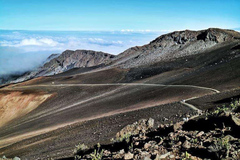 """""""Sliding Sands""""-Trail im Haleakala-Nationalpark"""