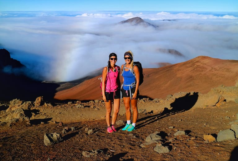 Sliding Sand Trails im Haleakala-Nationalpark