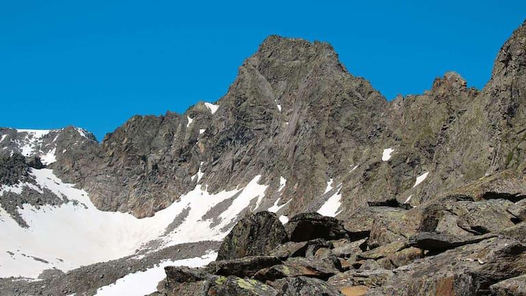 Die Rinnenspitze ist Mitglied im Stubaier Seven Summits.