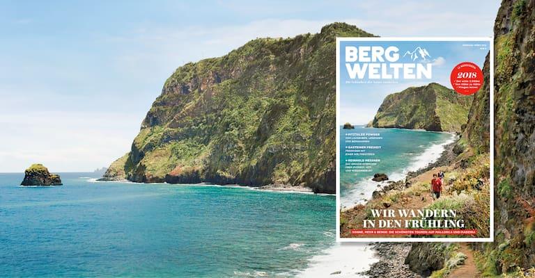 Bergwelten Magazin Februar/März 2018