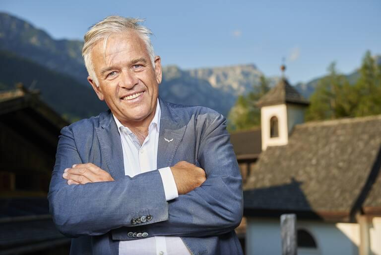 Präsident der Oberalp Group: Heiner Oberrauch