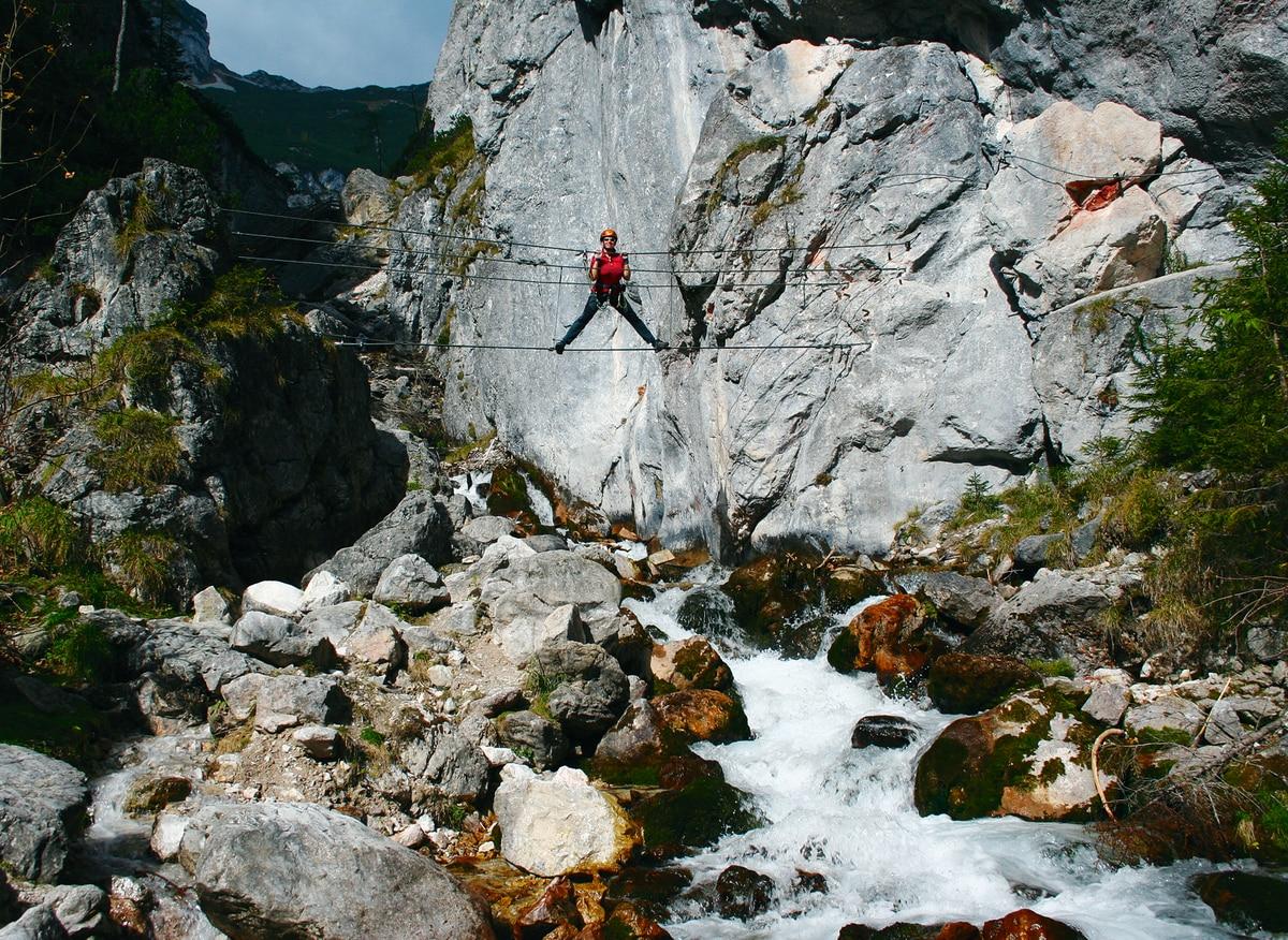 Klettersteig Däumling : 7 der schönsten klettersteige in Österreich bergwelten
