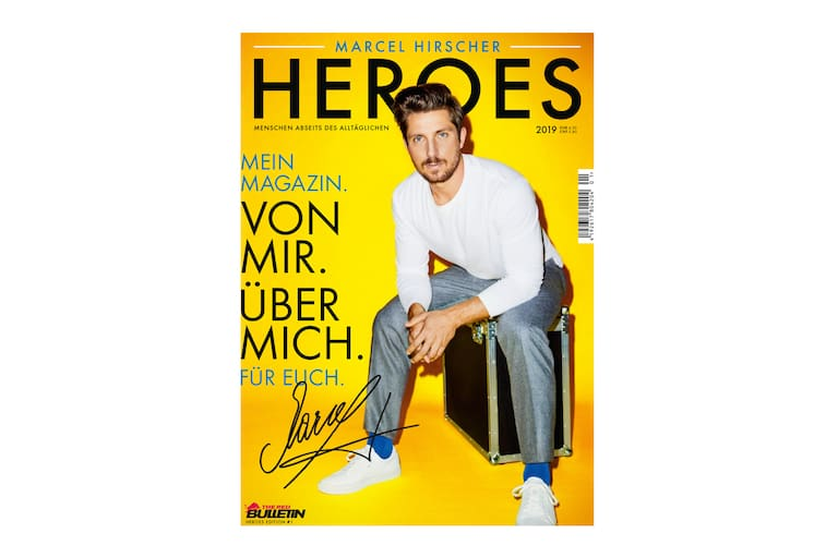 Marcel Hirscher Magazin