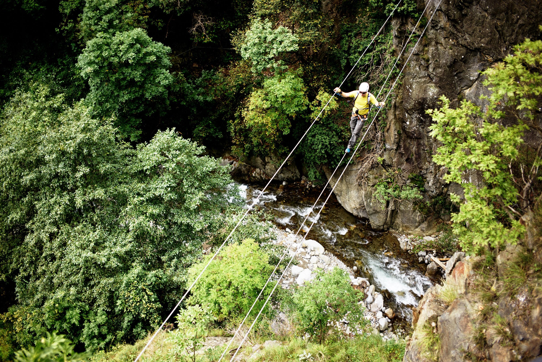 Klettersteig Postalmklamm : Klettersteige in schluchten bergwelten