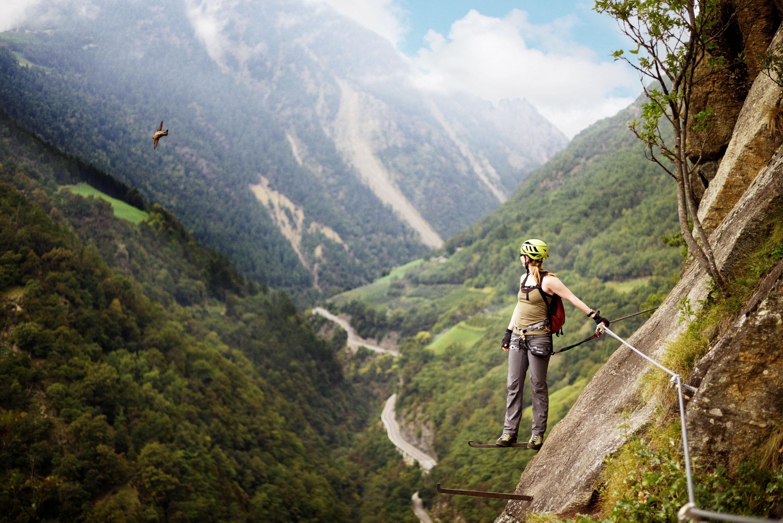 Klettersteig Netstal : Mammut klettersteig zermatters