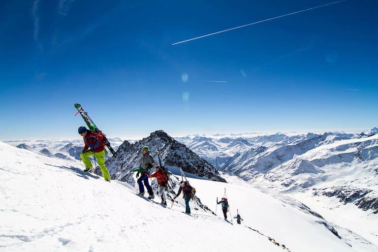 Skiroute Hoch Tirol