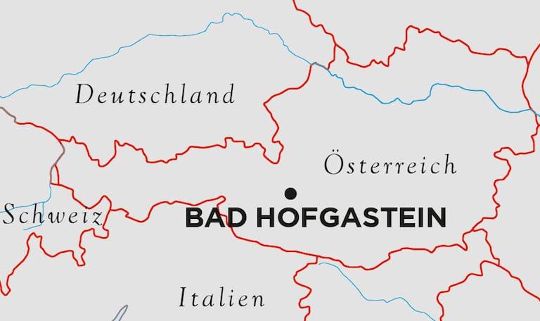 Hofgastein Karte