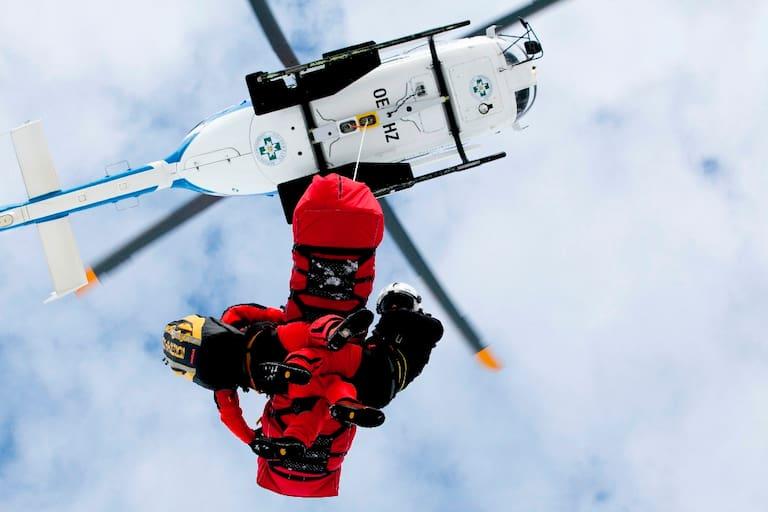 Experten für den Notfall: Hubschrauberbergung der Bergrettung Vorarlberg