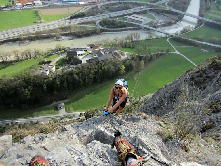 Kaiser-Max-Klettersteig Martinswand