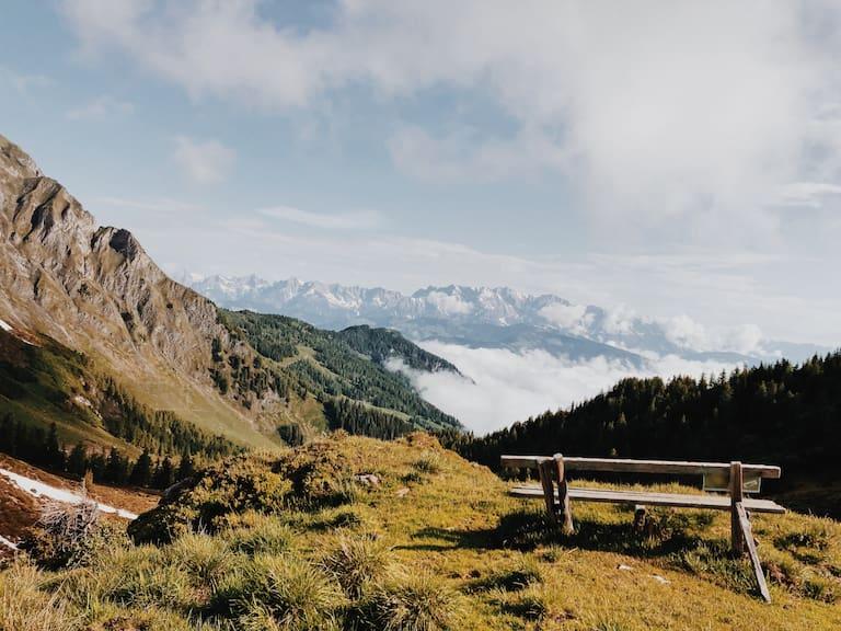Ernst Merkinger wandert Gastein Trail