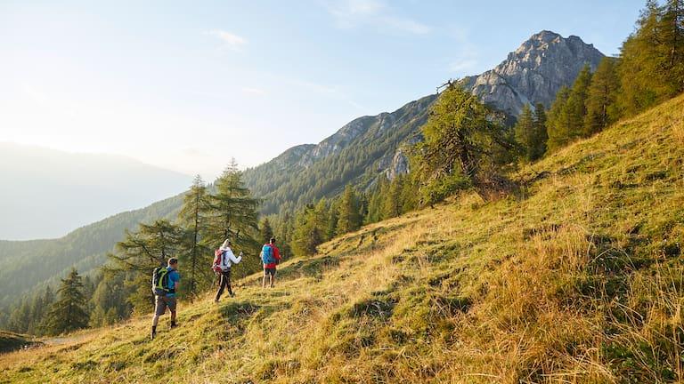 In einer Woche rund um Innsbruck.