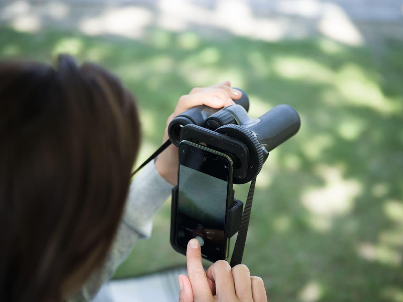 Mit dem Variablen Phone Adapter geniale Bilder über das eigene Smartphone teilen.