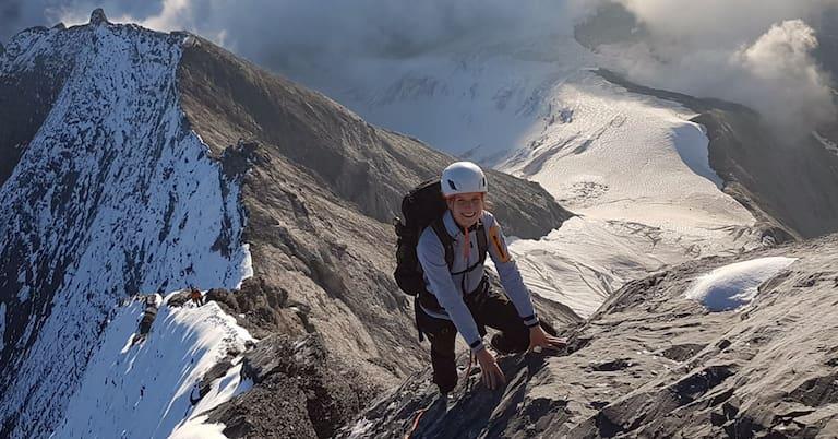 Kai Leonie Tschan: Von der Juristin zur Hüttenwirtin auf 3.355 m