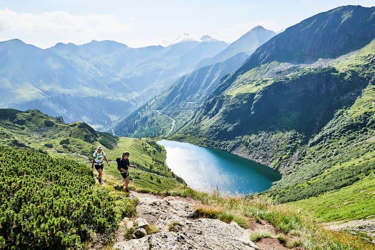 Die drei Kaltenbachseen auf rund 1.800 m im steirischen Sölktal