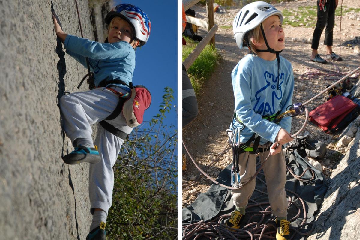 Klettergurt Ausrüstung : Klettern mit kindern ausrüstungstipps bergwelten