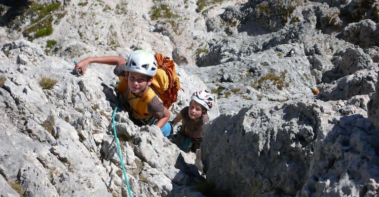 Klettern mit Kindern: Ausrüstungs-Tipps vom Profi