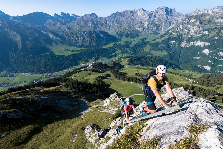 Klettersteigset Mieten Engelberg : Der brunnistöckli klettersteig b bei engelberg bergwelten