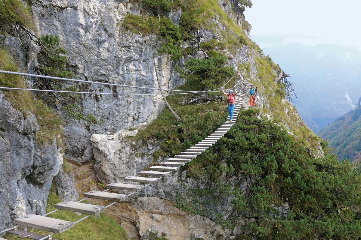 Klettersteig Bayern : 7 klettersteige für anfänger in den alpen bergwelten