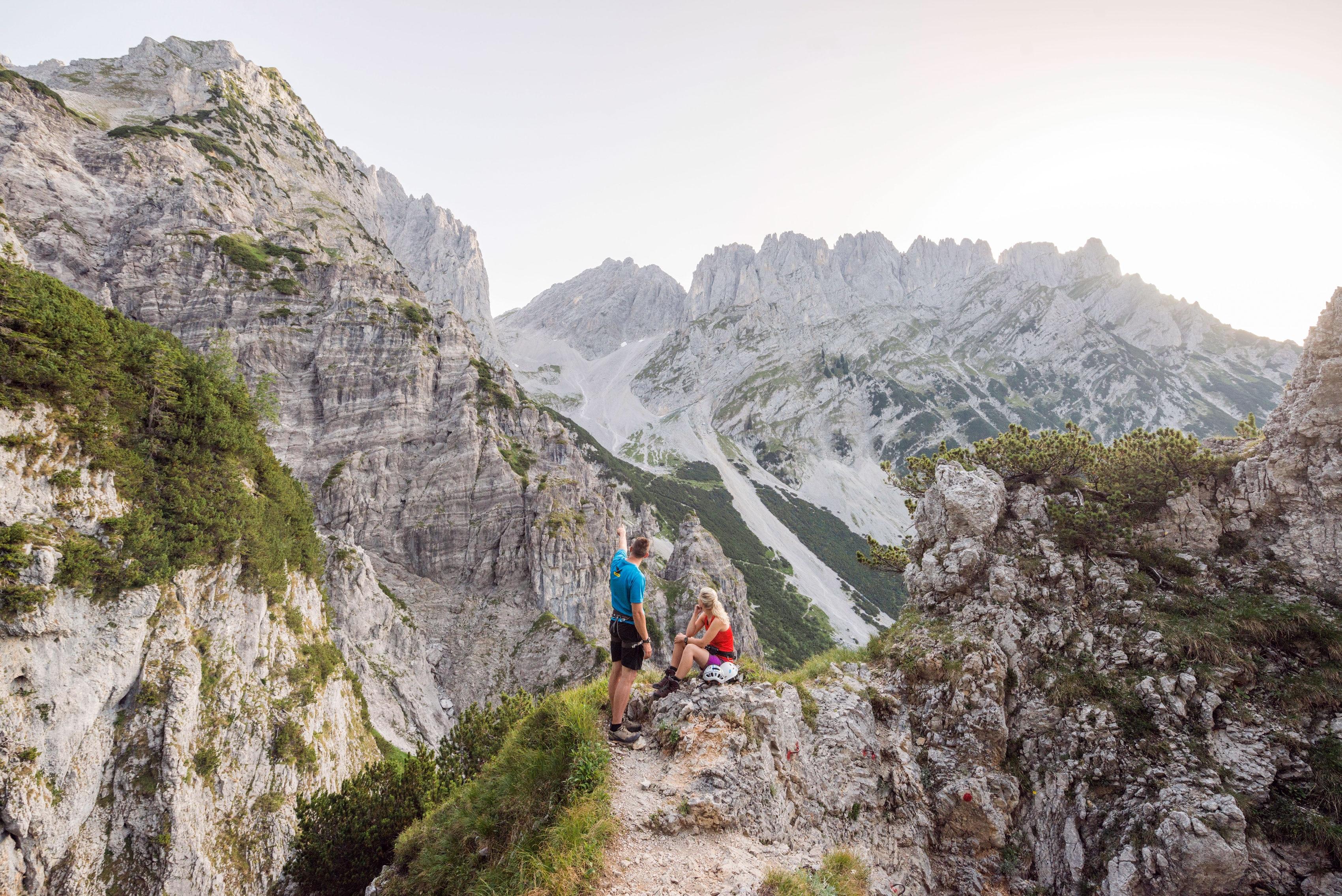 Klettersteig Wilder Kaiser : Touren rund um den wilden kaiser in tirol bergwelten