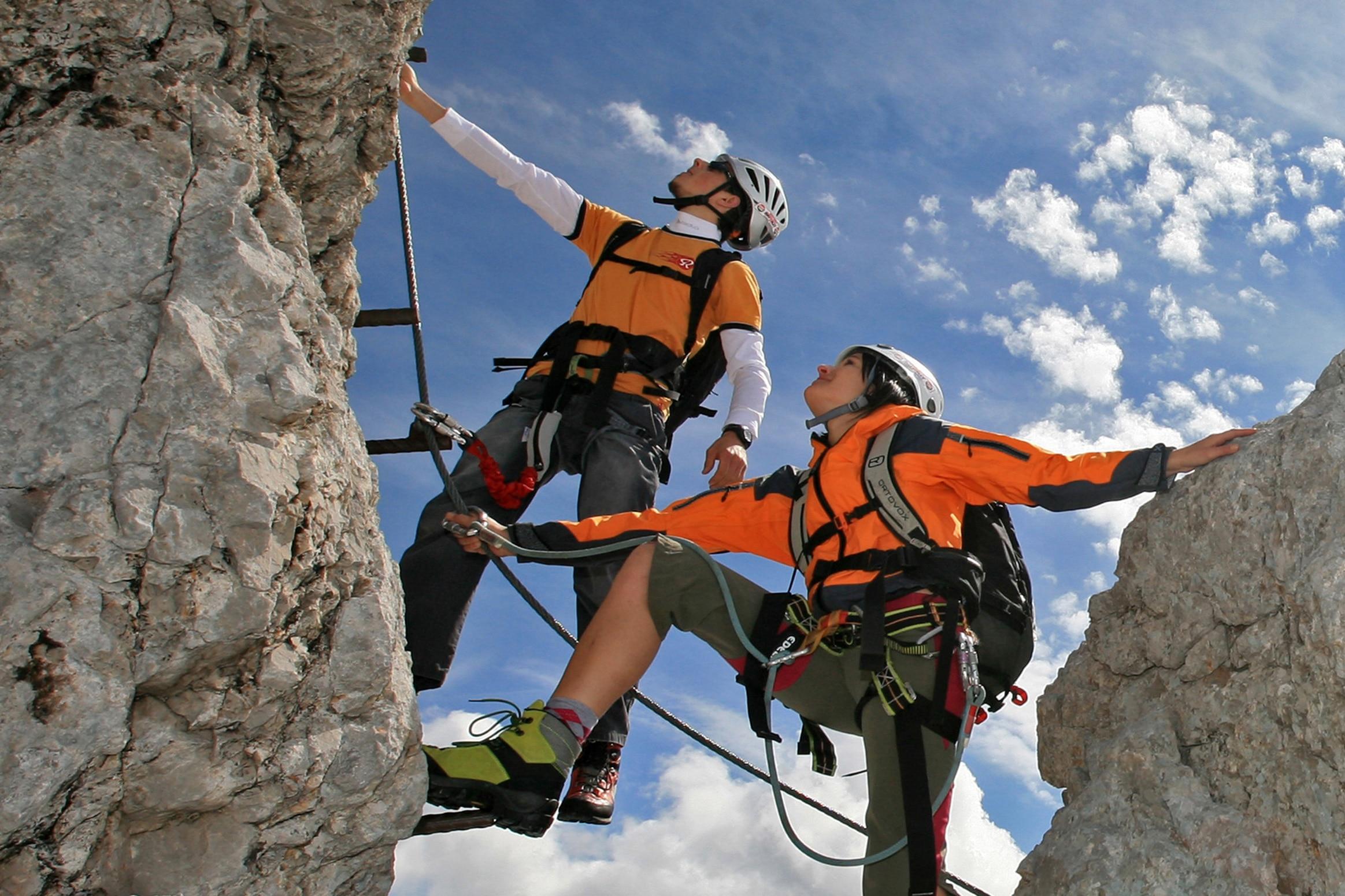 Klettersteig Zauchensee : Diskussion klettersteig boom und sicherheit bergwelten