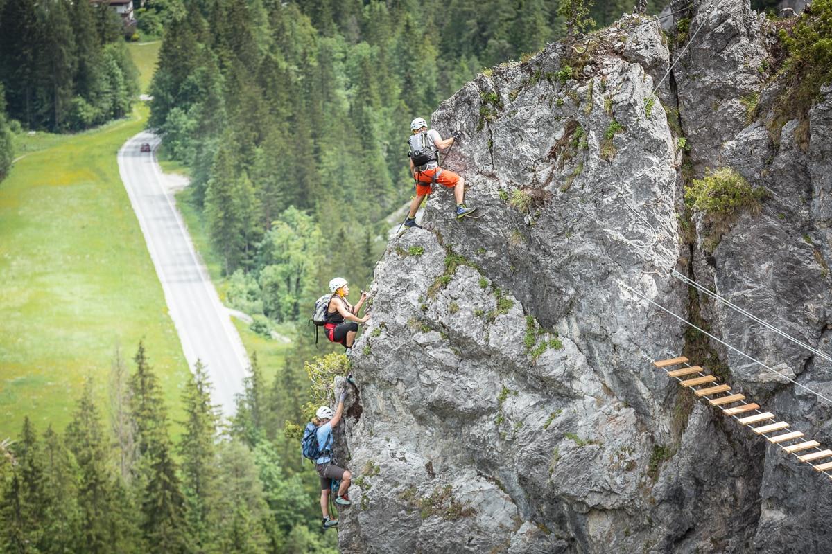 Klettersteig Eitweg : Mein erster klettersteig am dachstein bergwelten