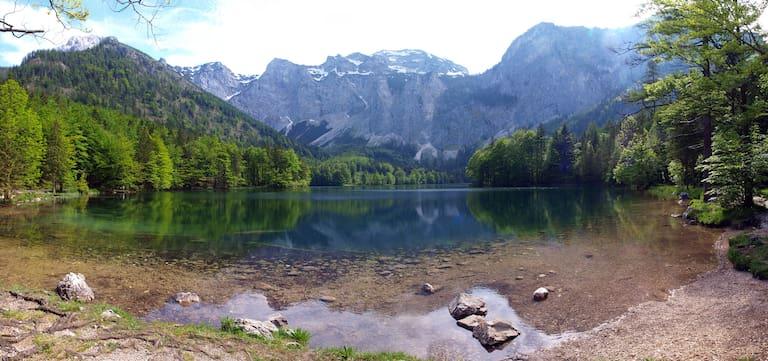 Der Langbathsee in Oberösterreich