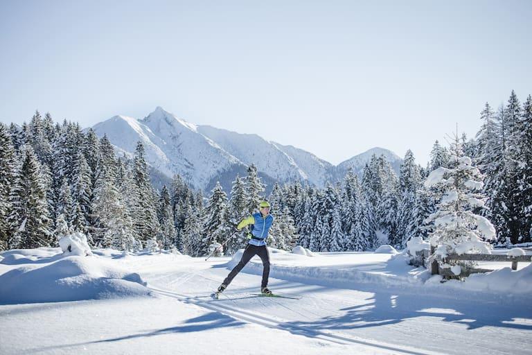 Skater in der Olympiaregion Seefeld in Tirol